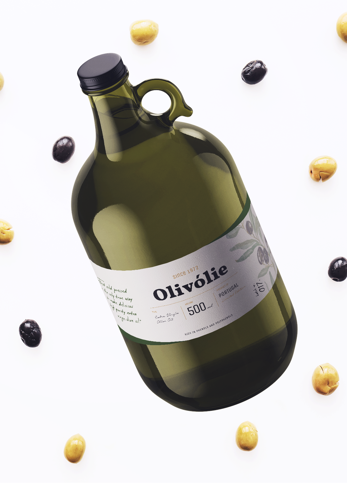 Olivolie-bottle